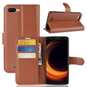 Etui-pour-Blackview-A20-Smartphone-Protection-Portefeuille-Carte-Support-Cuir-PU