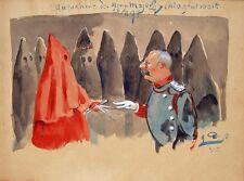 Major Schlagintweit Ku-Klux-Klan Kapuze Kutte Orden Freimaurer Loge Geheimbund