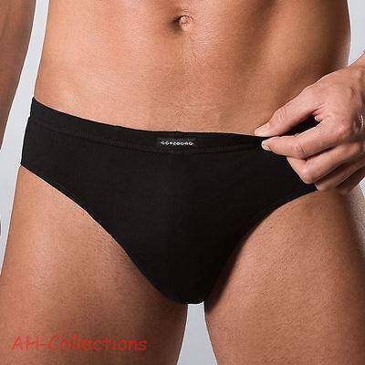 Götzburg Sport-Slip 3er-Pack schwarz Gr. M-XXXL 5 bis 9 Unterwäsche Underwear