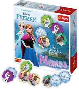 Trefl-Kids-Disney-MEMOS-Frozen-Cartes-de-Strategie-Jeu-De-Societe-Jeu-Amusant-Enfants-Nouveau