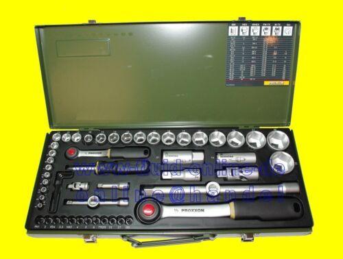 NEU PROXXON 23040 Knarrenkasten 56 teiliger Werkzeugkoffer Nusskasten