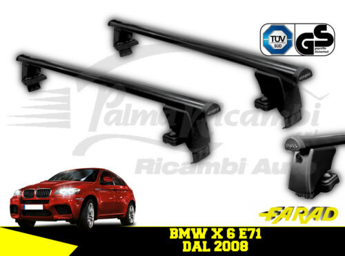 Bs10 Roof Bars Farad Iron BMW x 6 E71 from 2008 Iron 130