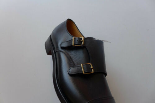 RRP £970 BNWB sizes UK 11.5 and 12 John Lobb William Double Monk Strap Shoes