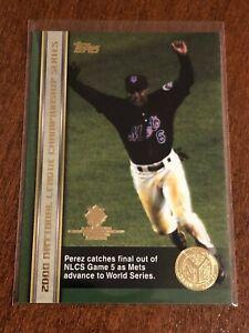 2000-World-Series-Topps-Baseball-Base-Card-66-Timo-Perez-New-York-Mets