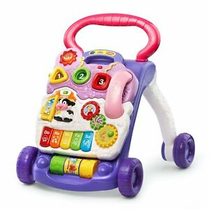 VTech Sit to Stand Learning Walker REPLACEMENT Parts /& Pieces YELLOW or PINK