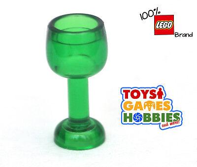 Lego ® Accessoire Vaisselle Verre Vert Transparent Green Drinking Glass 33061