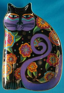 Royal-Doulton-034-Feline-Fantasy-034-by-Laurel-Burch-8-034-Plate