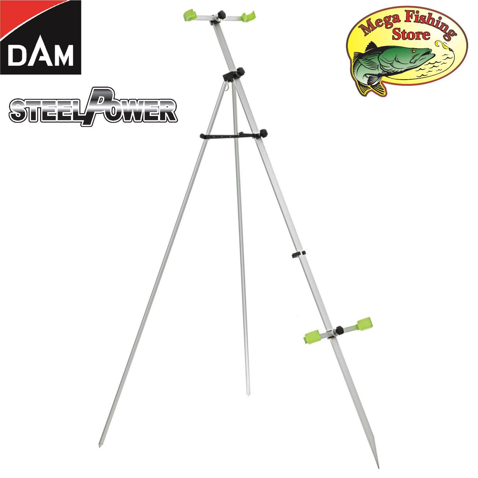 Dam steelpower cañas Tripod 1,70m -  oleaje tres pierna soporte para cañas soporte cañas  ¡No dudes! ¡Compra ahora!