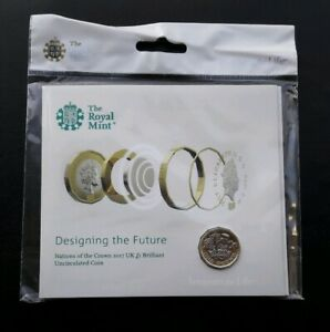 2017 Royal Mint Nations Of The Crown Bu £1 One Pound Coin Pack, Still Sealed 5ztdbsyt-07232304-607819959