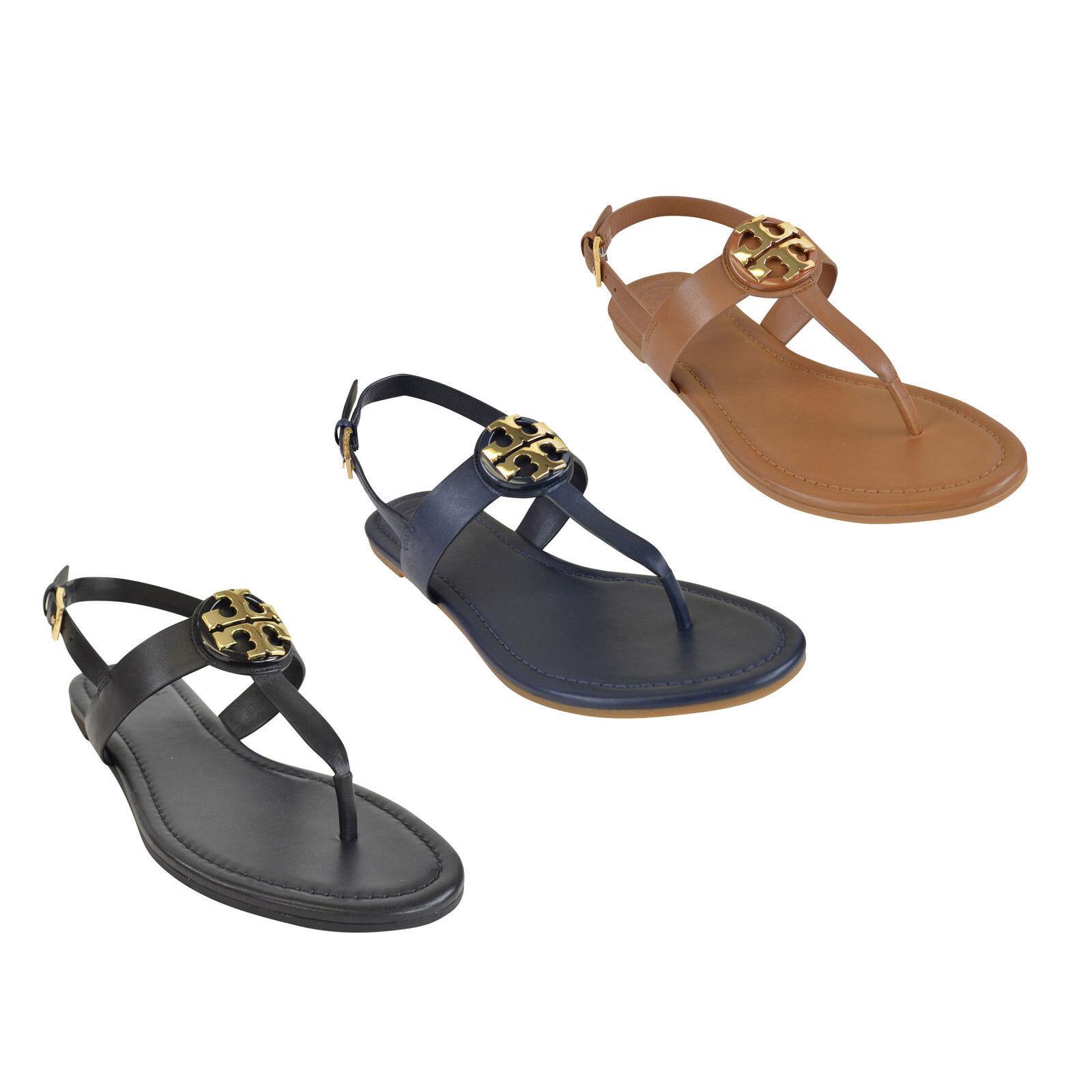 NIB Tory Burch BRYCE Flats Thong Sandals 6-10