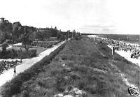 AK, Ostseebad Zinnowitz, Promenade am Strand, 1963