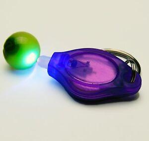 Uranium-Glass-Marble-amp-UV-Keyring