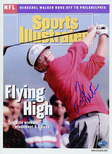 Tom-Kite-SIGNED-Sports-Illustrated-Print-PSA-DNA-AUTOGRAPHED