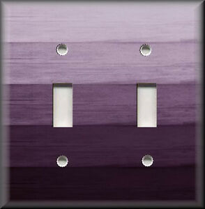 Lovely Image Is Loading Light Switch Plate Cover Ombre Home Decor Plum  Good Ideas