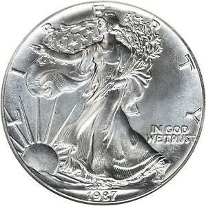 1987-AMERICAN-SILVER-LIBERTY-EAGLE-1-ONE-DOLLAR-COIN