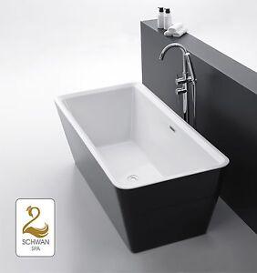 design badewanne freistehende wanne whirlpool spa pool badezimmer badm bel bad ebay. Black Bedroom Furniture Sets. Home Design Ideas