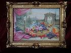 Cadre d'image IMAGE ANCIEN DE STYLE BAROQUE/ROCOCO fleurs r. Masil reprobilder