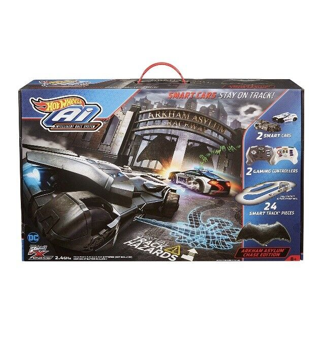 Hot Wheels Ai Intelligent Race System RC - Batman DC Arkham Asylum Edition
