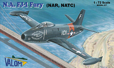 Valom Models 1/72 North American FJ-1 Fury (NAR, NATC) Model Kit