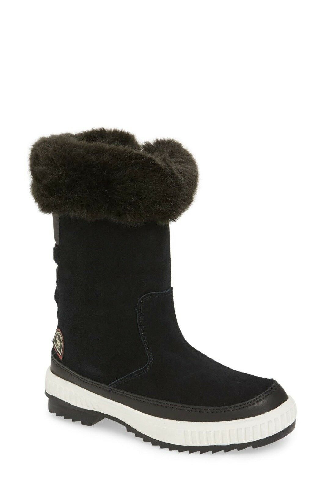 185 NWT Pajar Kady Waterproof Insulated Plush Cuff Winter Boot Black Sz 5.5 36
