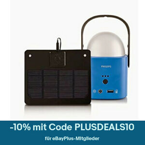 Philips LED Solar Lampe Camping Nachtlicht Campinglaterne Campinglampe 21-9-5-88