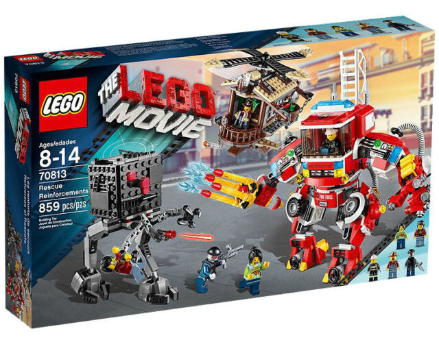Lego The Lego Movie Rescue Reinforcements 70813 For Sale Online Ebay