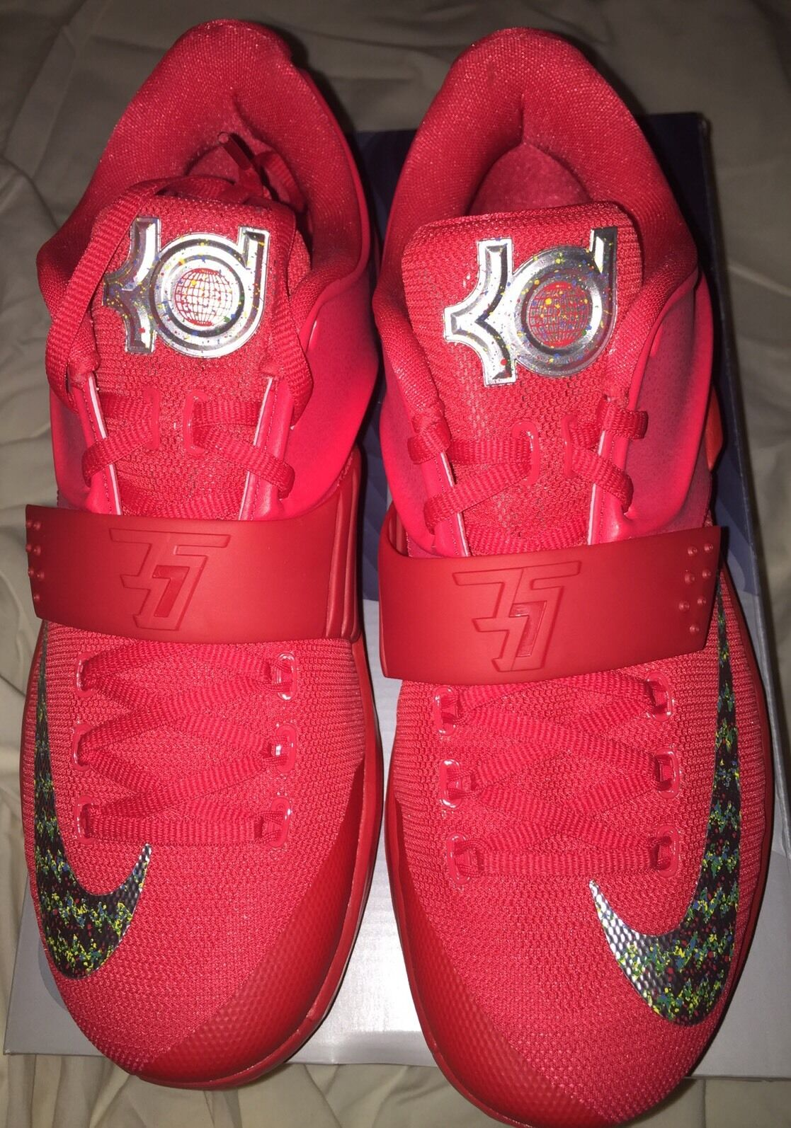 New Nike Kevin Durant Kd VII 7 Global Games Mens Size 9 DS Not red October Yeezy