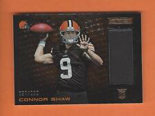 2014 ROOKIES AND STARS RC CONNOR SHAW JERSEY #d 027/299 CLEVELAND BROWNS