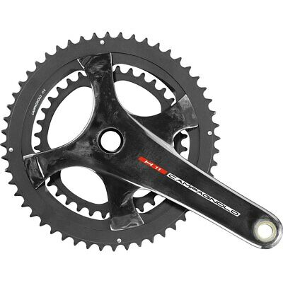 Campagnolo Record H11 Carbon Crankset 175mm 36//52 Chainrings 11 Speed MSRP $720