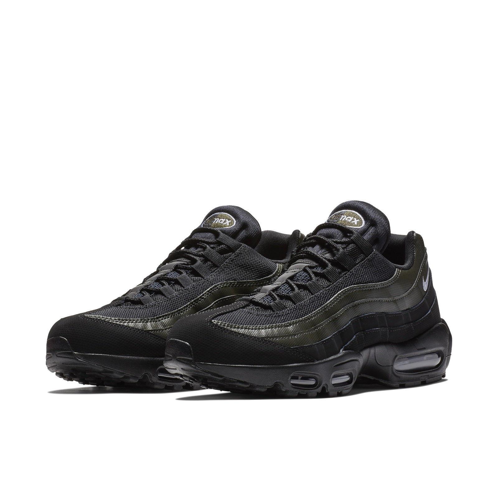 Descuento Hombres Nike Air Max 95 esencial 13 running negro Sequoia blanco 8 - 13 esencial NIB e3c5a5