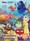 Disney Pixar Adventure Coloring: With 50 Stickers! by Parragon Books Ltd (Paperback / softback, 2015)