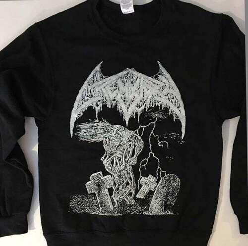 CREMATORY SWEATSHIRT death metal MORBID ANGEL Dismember Entombed Immolation S-XL