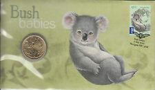 Australia 2011 PNC Bush Babies Koala Postal Numismatic Cover 1v $1 Coin