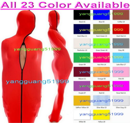 Unisex Sleeping Bag New 23 Color Lycra Mummy Costumes With internal Sleeves F279
