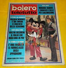 BOLERO FILM 1972 n. 1332 Giuliano Gemma, Sidne Rome, Valeria Moriconi