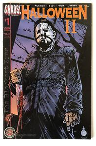 HALLOWEEN-II-The-Blackest-Eyes-1-1st-Print-Chaos-Comics-High-Grade-2001