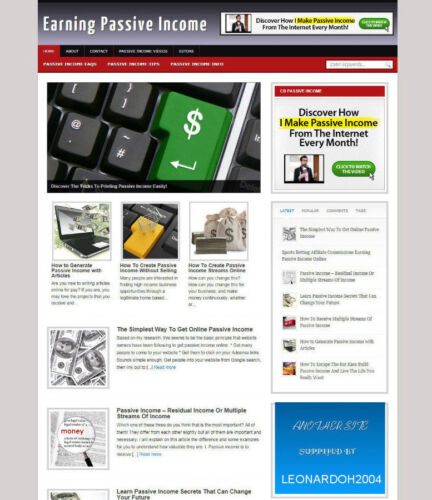 HOSTING /& DOMAIN EARN PASSIVE INCOME WEBSITE WITH UK AFFILIATE STORE /& BANNERS