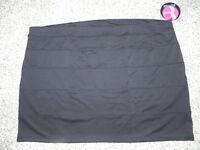 Slimpact Skirt Built In Shapewear Womens Plus Size 4x Black Panel Skirt