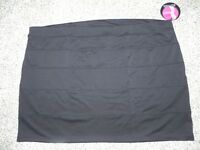 Slimpact Skirt Built In Shapewear Womens Plus Size 4x Black Panel Skirt