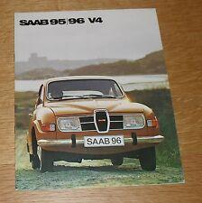 Saab 95 / 96 V4 Brochure 1974