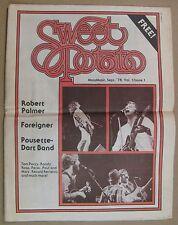 Sweet Potato Mass. Music Mag Sept 1978 (vol 1 no 1) Robert Palmer, Pousette-Dart