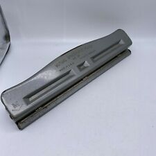 Vintage Mutual Spacematic Punch No 23 Adjustable Three Hole Punch Vgc 003