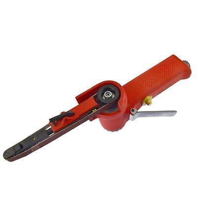 Bescheiden 10mm Air Finger Belt Sander And Belts Power File Detail Sander Plus Belts An13 100% Original
