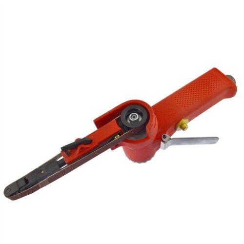 10mm Air Finger Belt Sander And Belts Power File Detail Sander Plus Belts AN13