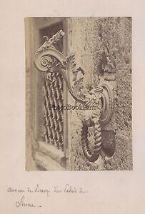 Siena Anello Da Bronzo Italia Foto Lombardi Vintage Albume D'Uovo