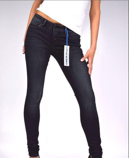PEPE JEANS,Jeans denim blue scuro,skinny.