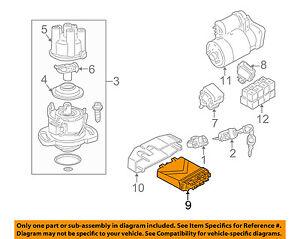 chargement de l'image vw-volkswagen-oem-eurovan-ecm-pcm-ecu-engine-