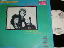 """7"""" - Style Telephone & Chain Reaction - 1985 Promo # 5448"""