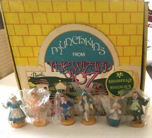 Presents Wizard of Oz Munchkins Set of 6 PVC Christmas ...