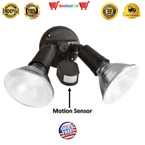 NEW Brinks 110-Degree Motion Par Security Light Sensor Flood Outdoor Lamp Spot